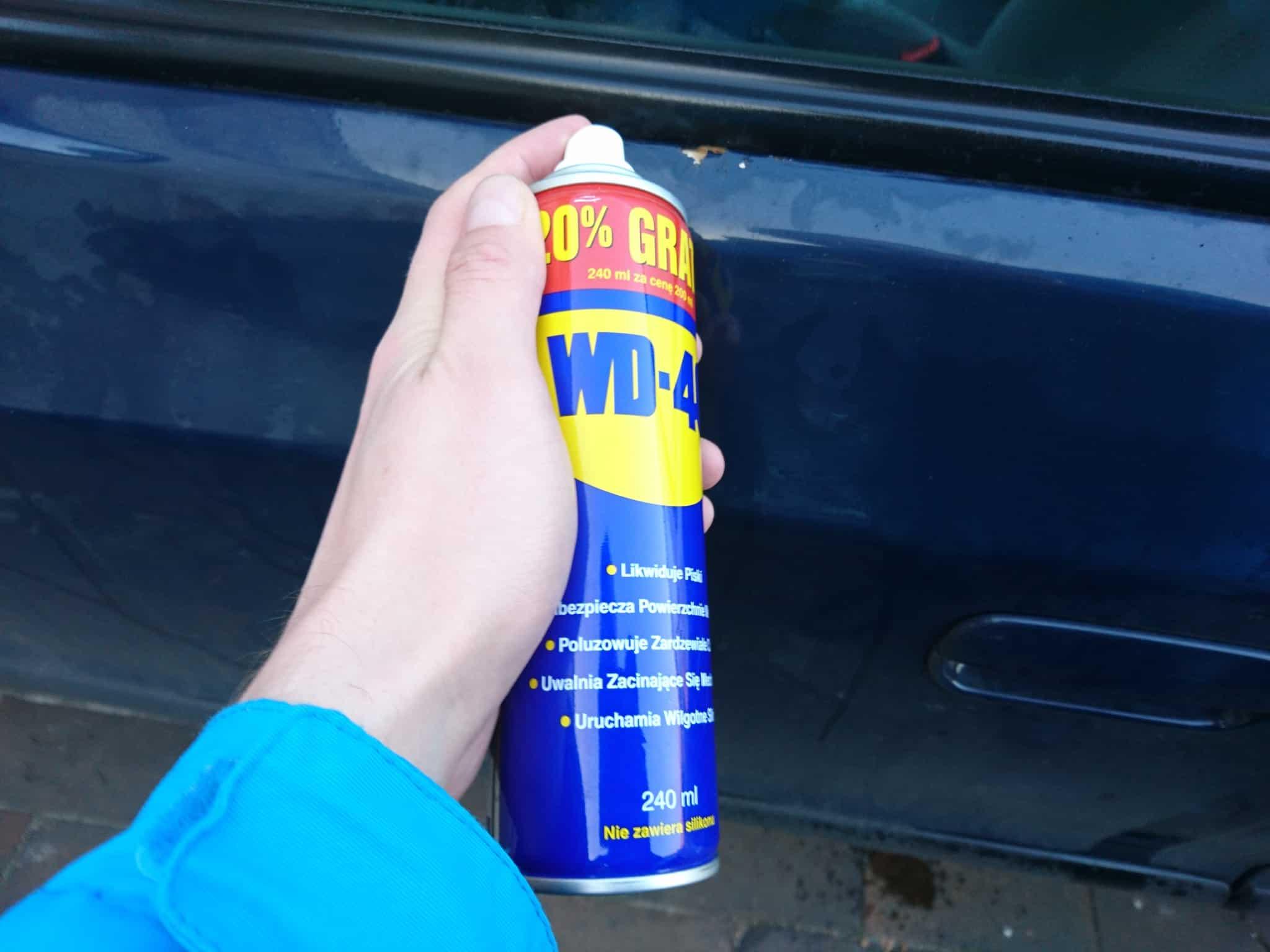 likwidowanie rdzy w samochodzie