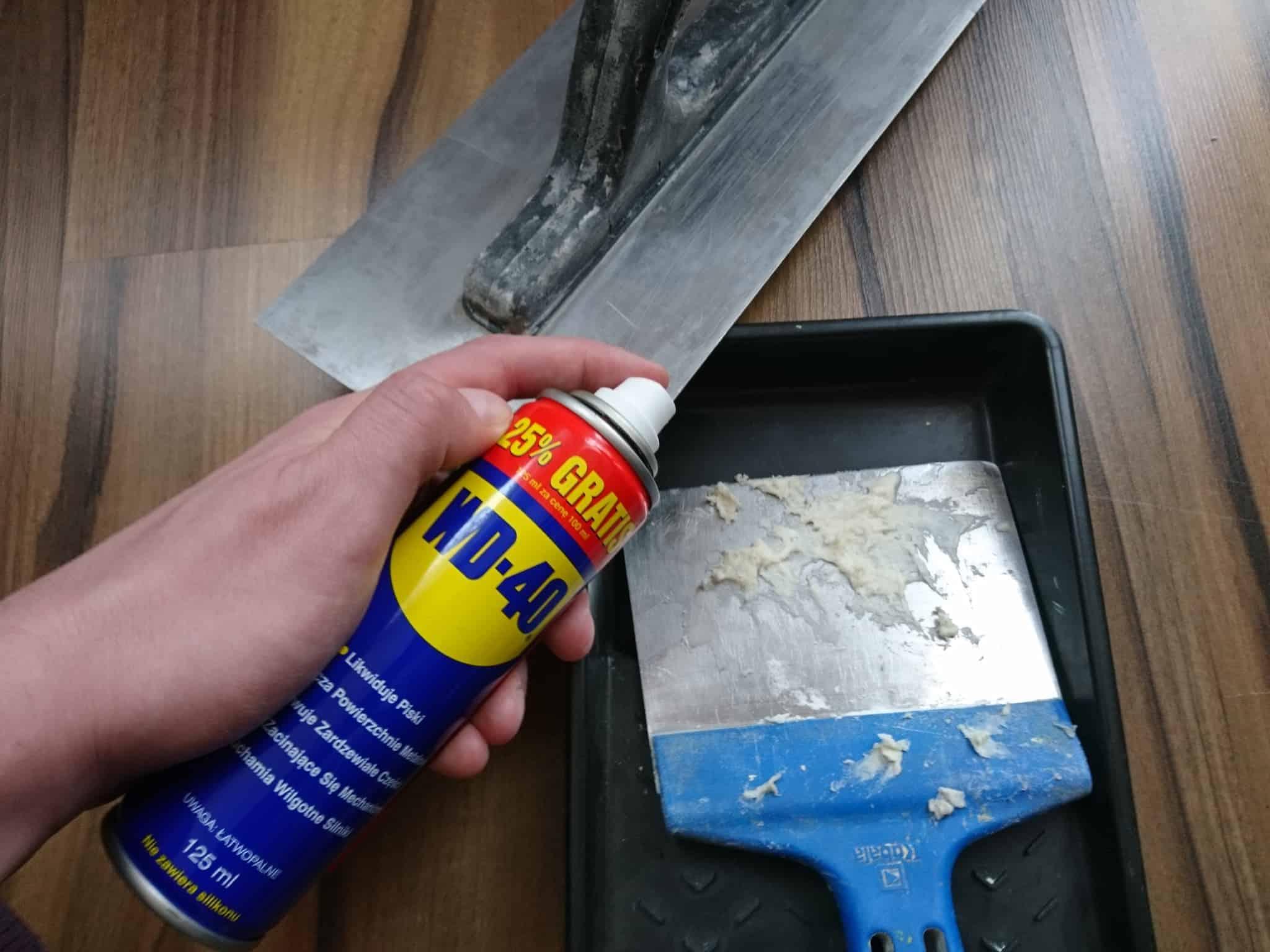 zeby usuac cement z metalu