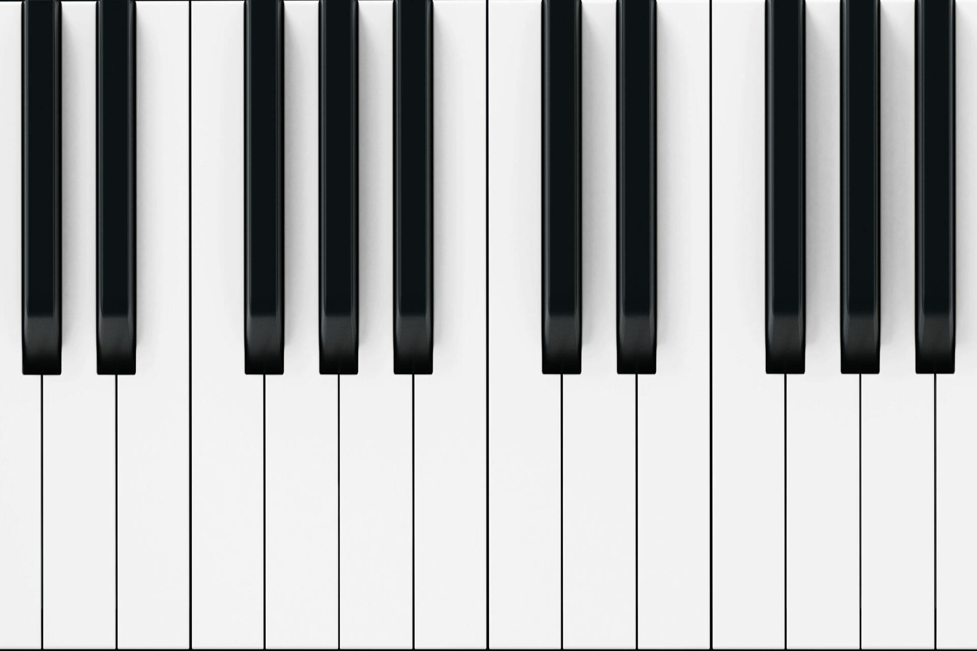 wyczyscic klawisze w pianinie
